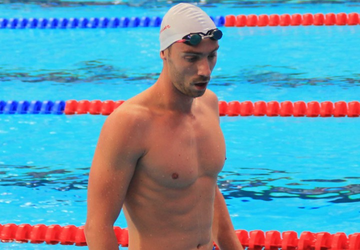 Jeremy Stravius Rockets To 2nd in World in 100 Free in France