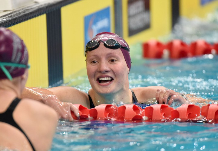 Jessica Ashwood Just Misses Aussie Record in 800 Free