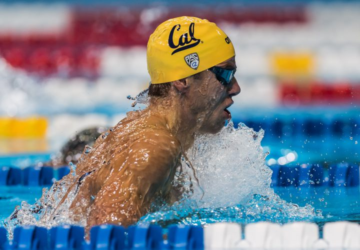 Josh Prenot Upsets Cordes For 200 Breast Win Posts Second Fastest Time Ever