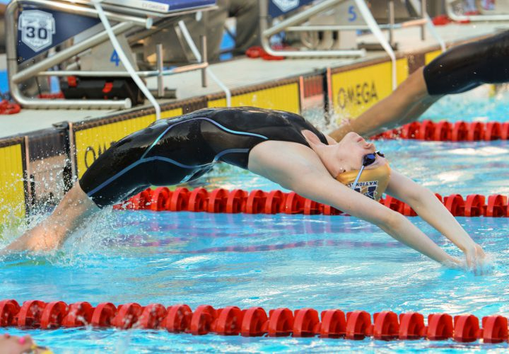 2016 YMCA Long Course Nationals Psych Sheet Released