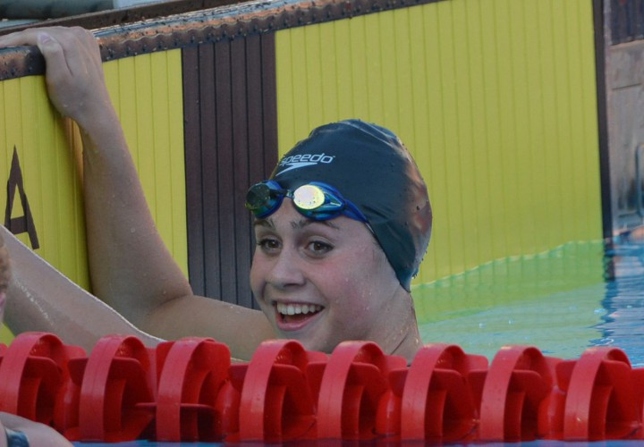 Grace Ariola Takes Two Golds On Final Day of Pleasant Prairie Sectionals