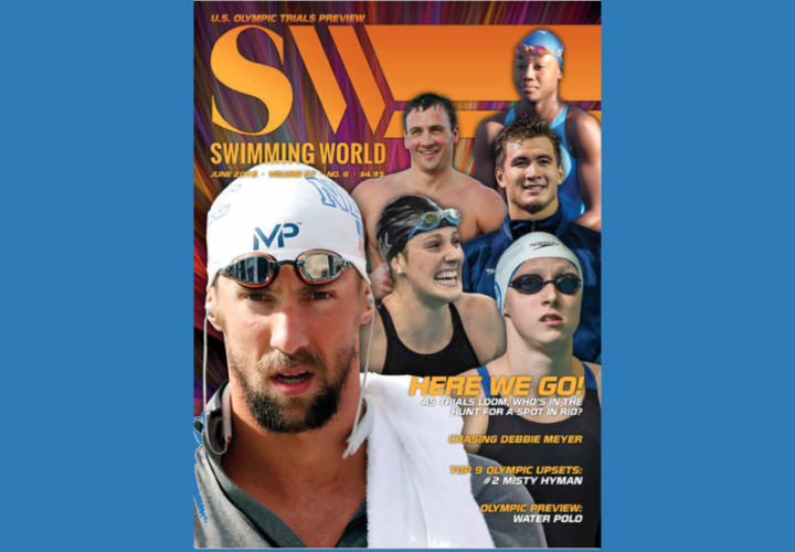 US Olympic Hopefuls Grace June Cover Of Swimming World Magazine Download Now