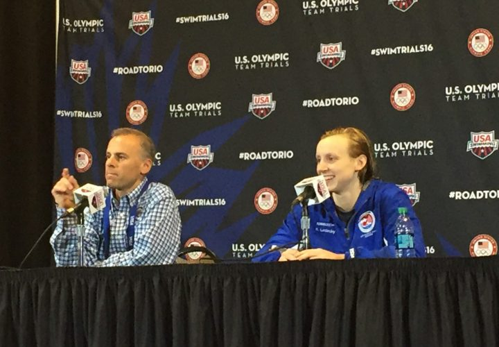 Press Conference Ledecky My Job Is to Swim Fast