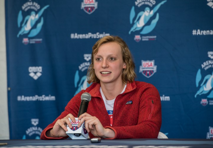 Video Interview Katie Ledecky Is Patient Ready For Fast Swims