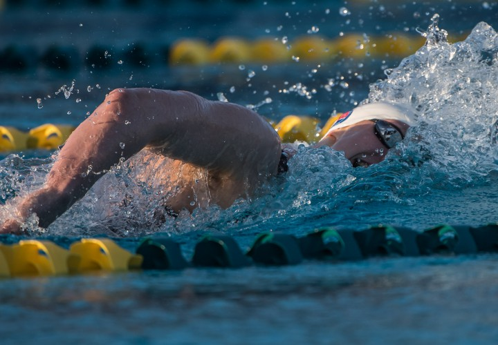 Katie Ledecky Posts 2nd Fastest 800 Free In The World To Start Mesa Night 3