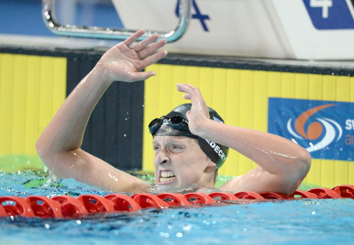 Trials Throwback Womens 800 Free in 2012