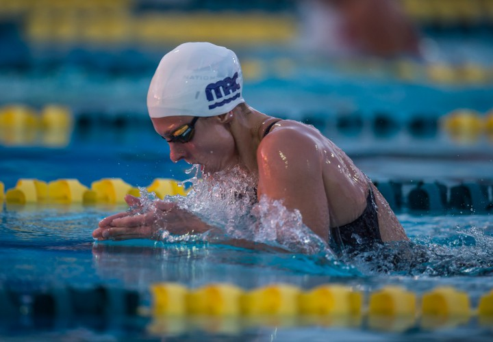 Katie Meili Caps Off The Weekend With A 50Breaststroke Win At ProAm Classic