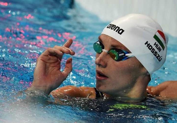 Katinka Hosszu Sets Fastest January 200 IM Ever at FFN Golden Tour Stop