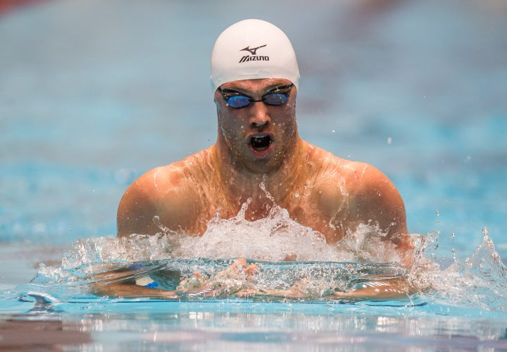 Video Interview Kevin Cordes Back in the US and Swimming Fast