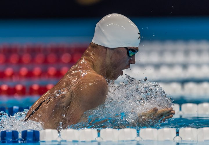 Kevin Cordes Posts US Open Record in 200 Breast Semis