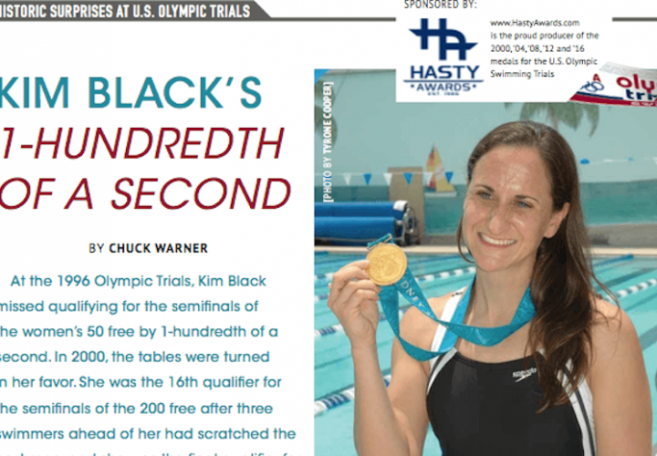 Swimming World Presents Historic Surprises At US Olympic Trials Kim Blacks OneHundredth Of A Second