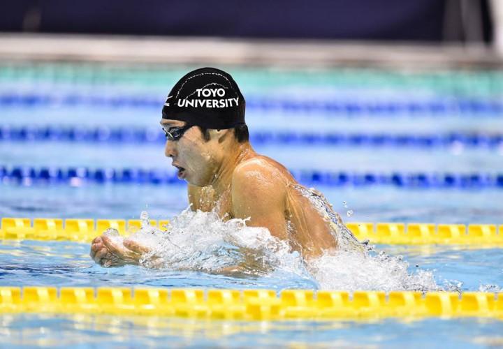 Kosuke Hagino Claims Pair of Titles To Close Out Bergen Swim Festival