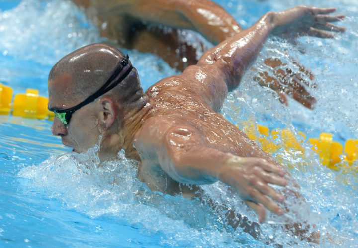 Laszlo Cseh Crushes Meet Record With 5086 in 100 Fly
