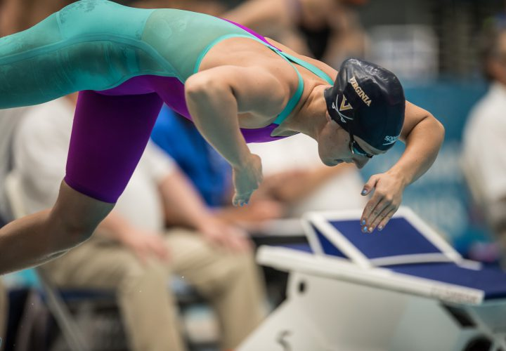 Leah Smith Second in World Behind Katie Ledecky in 400 Free