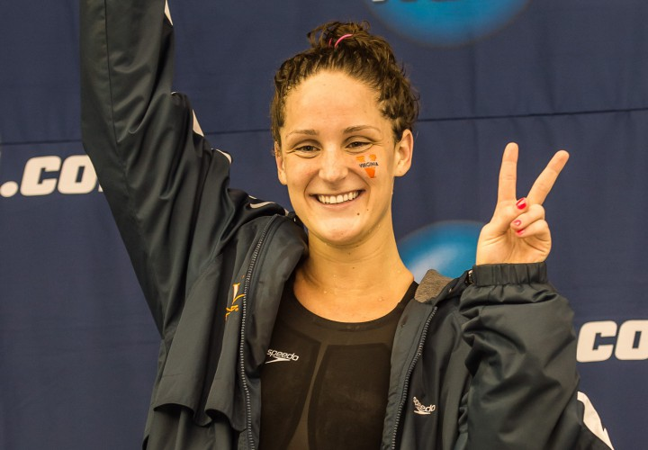 Virginias Leah Smith Defends 500 Free Title at NCAAs