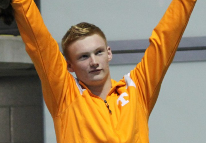 VIDEO INTERVIEW Liam Stone Discusses Victory in 1Meter Dive