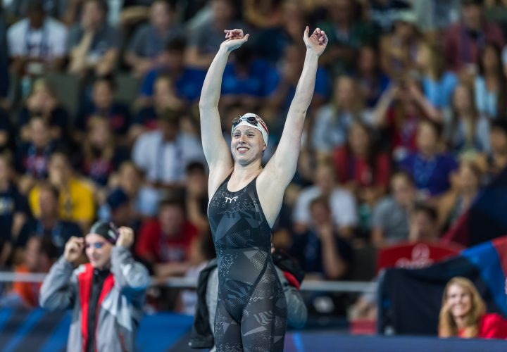 Lilly King Charges To Top Of World Rankings In 100 Breast