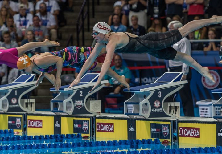 USA Swimming Introduces 2016 Olympic Team Lilly King