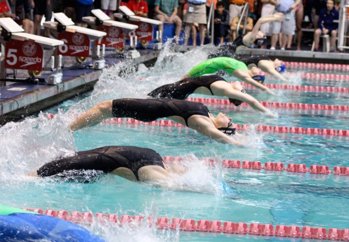Lucie Nordmann Looks To Complete Backstroke Sweep At Day Five Of 2016 NCSA Juniors