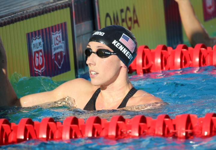 Madison Kennedy Jumps To 6th In The World In 50 Free Dana Vollmer Vaults to 10th