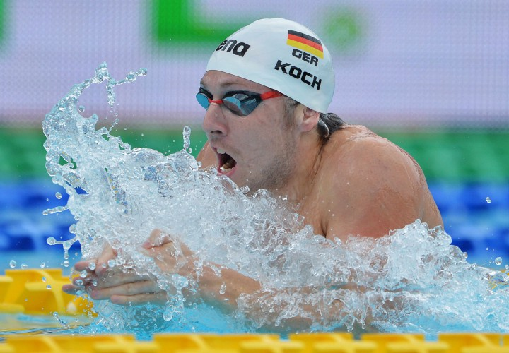 Marco Koch Tops Strong Breaststroke Field At Day One Prelims Of Dubai World Cup