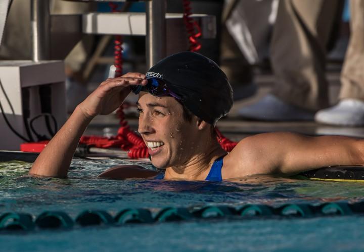 Maya Dirados Strong Backstroke Leg Propels Her To 200 IM Victory In Mesa