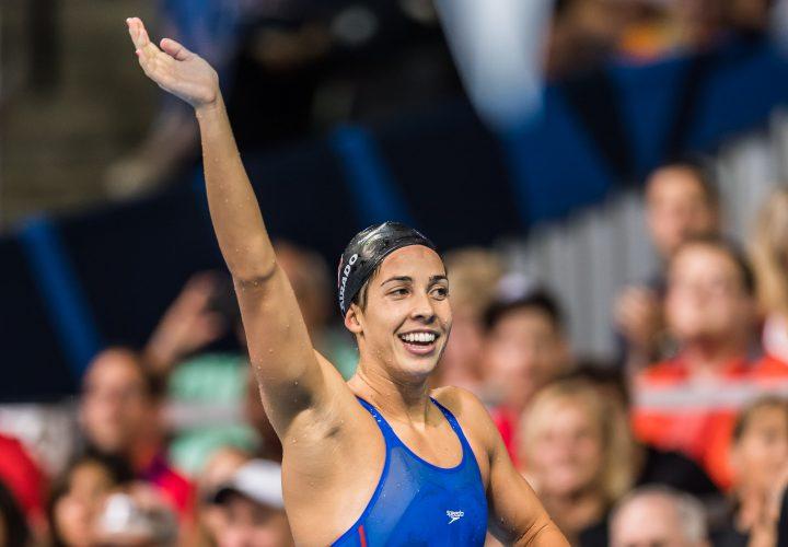 USA Swimming Introduces 2016 Olympic Team Maya DiRado