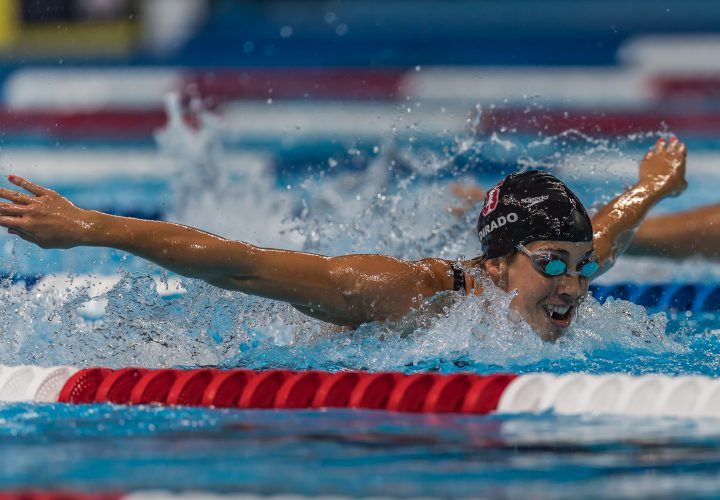 Maya DiRado Continues IM Excellence with Top Seed for 200 Semis