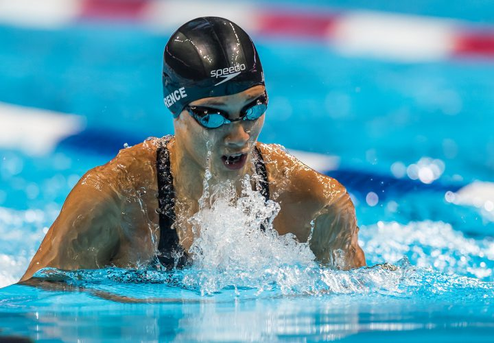 Micah Lawrence Snags Top 200 Breaststroke Seed
