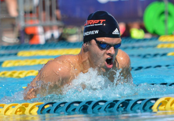 Michael Andrew Downs 100 Breast NAG Record By 01 Seconds