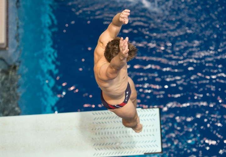 Dormand and Hixon Cozad and Parratto Lead Through Semis on Day 1 of Diving Trials
