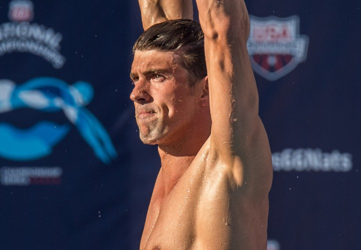 Michael Phelps Missy Franklin Slated to Appear at 2016 Longhorn Elite Meet Psych Sheets