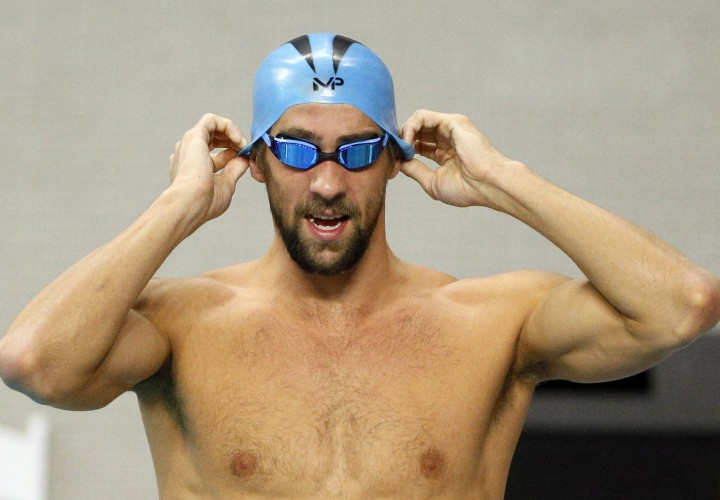 Watch Michael Phelps Clear 52 Seconds in January 100 Fly