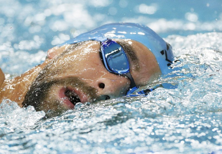 Michael Phelps Report Nearly Posts January 200 Free Career Best