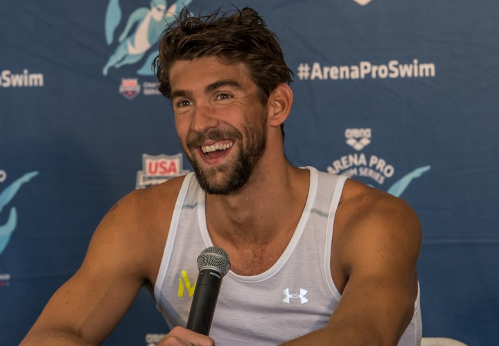 Michael Phelps Named Participant At 2016 Ryder Cup Celebrity Match