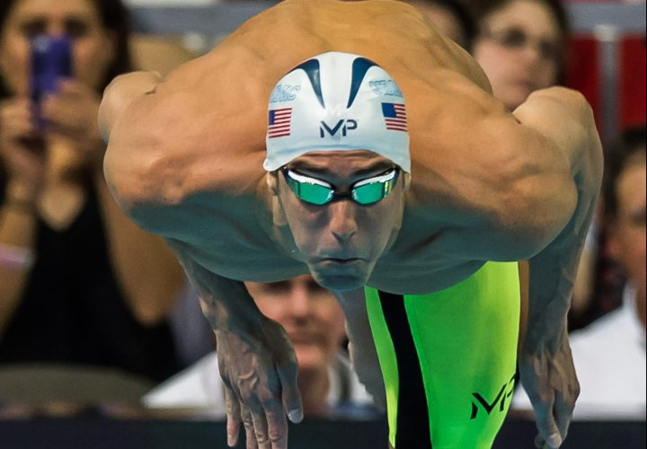 USA Swimming Introduces 2016 Olympic Team Michael Phelps