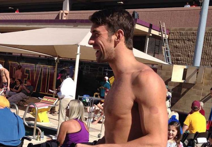 Video Interview Michael Phelps This Is My 1st West To East Meet Ever