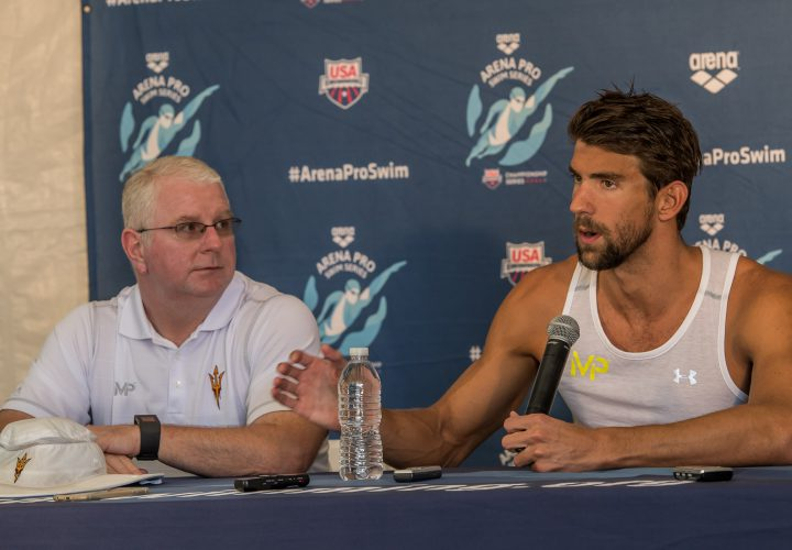 Video Bob Bowman Takes Over Michael Phelps Facebook Live QA