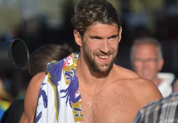 Video Interview Michael Phelps Proud of Kalisz for Keeping the 400 IM in the NBAC Family