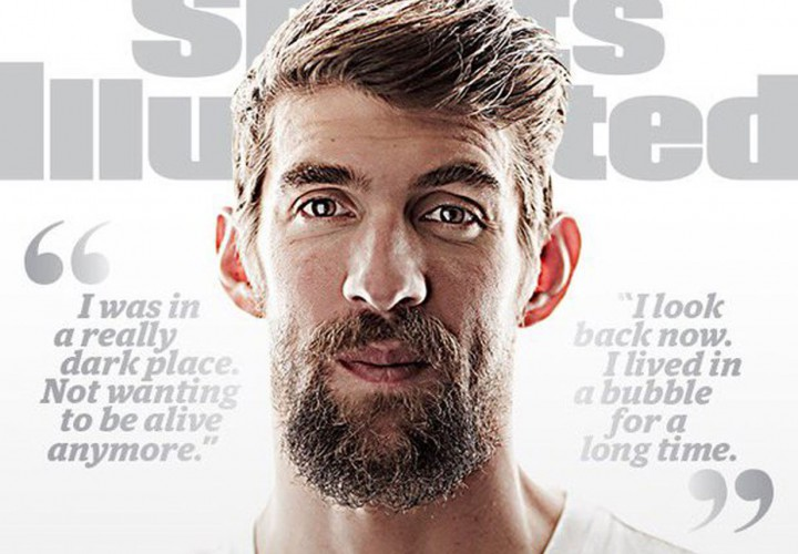 Michael Phelps Graces Sports Illustrated Cover I Was In a Really Dark Place
