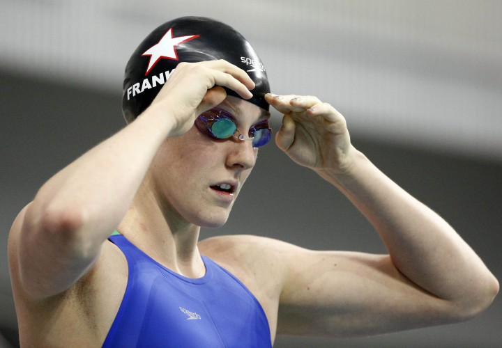 Missy Franklin Springs to 4th in World in 100 Back