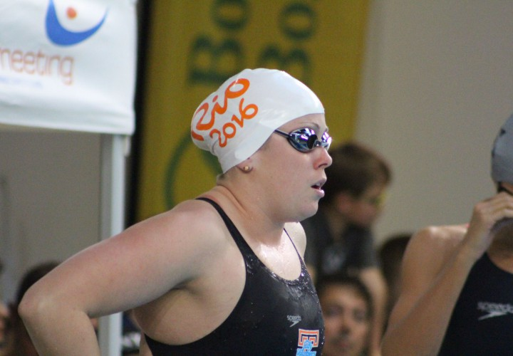 Molly Hannis Cranks Out 2ndFastest January 100 Breast Ever at Geneva International