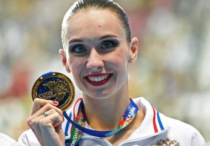 Natalia Ishchenko Secures Synchronized Swimming Free Solo Gold At 2016 European Aquatic Championships