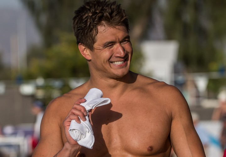 Video Interview Nathan Adrian Made Mesa More Of A Training Meet