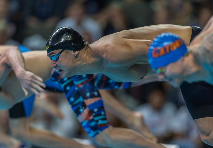 Nathan Adrian Charges to Rio with 100 Freestyle Victory
