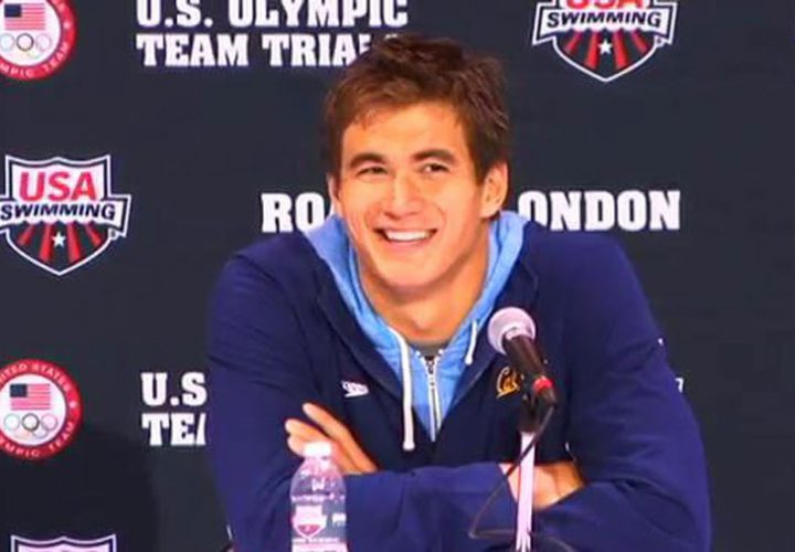 Morning Swim Show Relive Nathan Adrian At The 2012 Olympic Trials