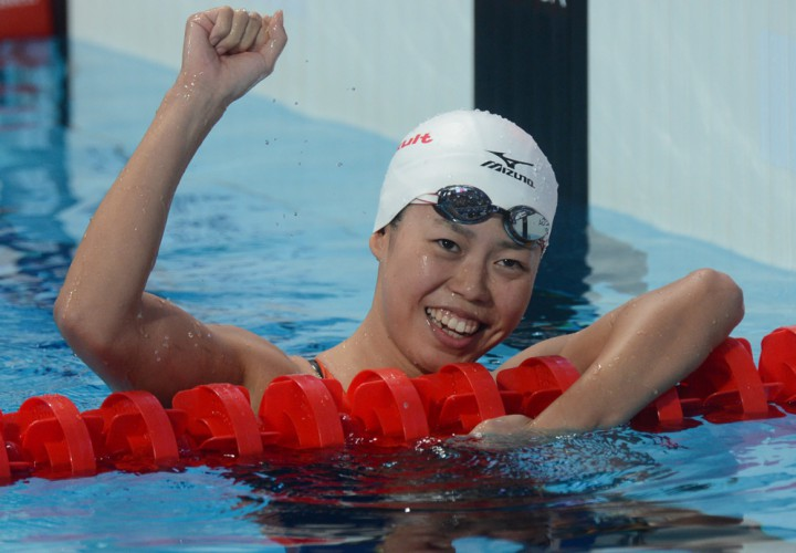 Natsumi Hoshi Blasts To First In World In The 200 Fly At Japanese Nationals