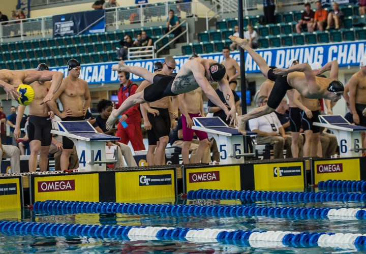 2016 NCAA Division I Mens Championships Day 3 Prelims Heat Sheet