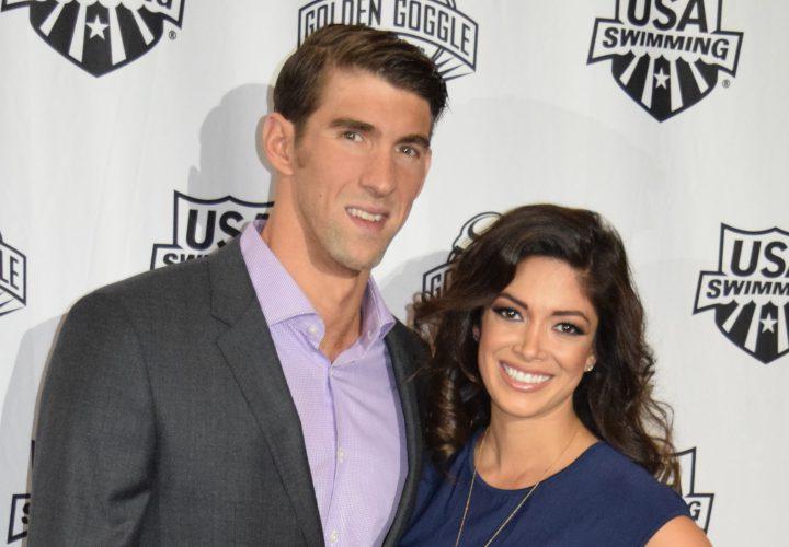 Michael Phelps Nicole Johnson Welcome Baby Boomer Robert Phelps