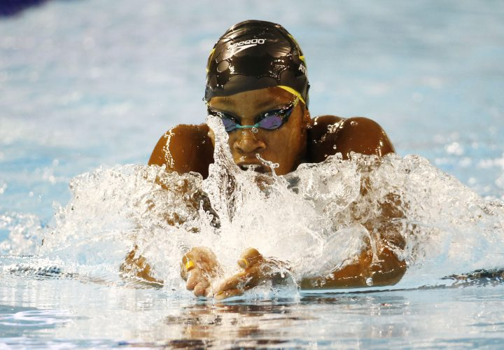 Alia Atkinson Posts Worlds 10th Best 100 Breaststroke at Tennessee Invite